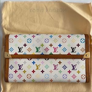 Louis Vuitton Takahashi Murakami wallet